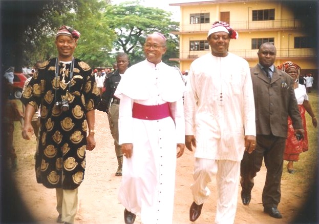 Igbo Heritage Foundation President with AJV Obinna, and Itanyi